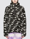Ashley Williams Juju Sperm Print Fleece Pullover Jacket Picutre