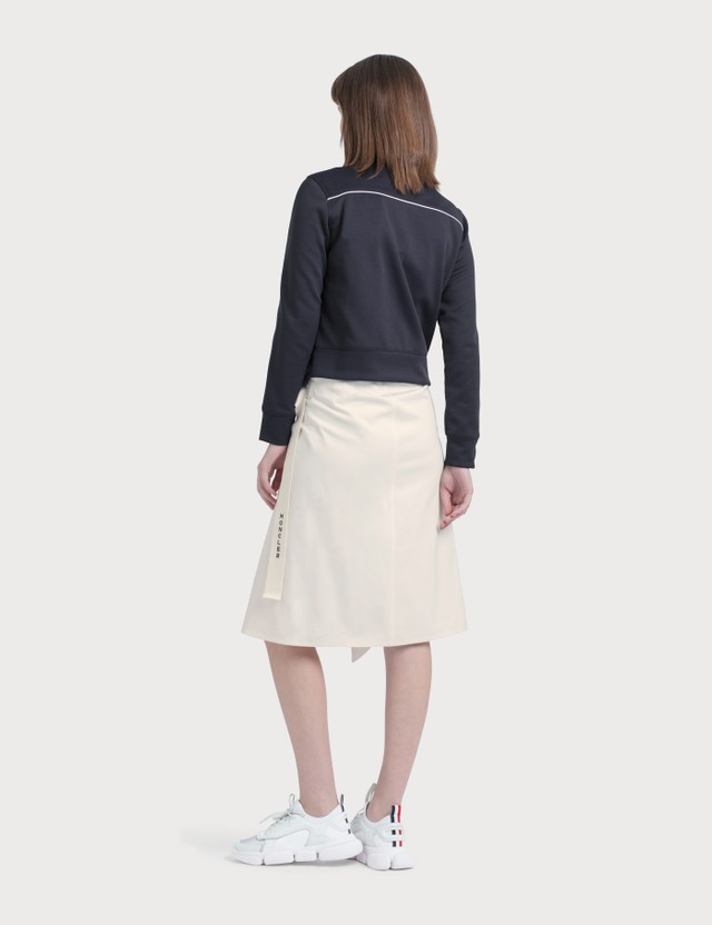 Moncler A-line Mid Skirt White Women