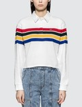 Levi's Rugby Crop Polo Shirt Picture