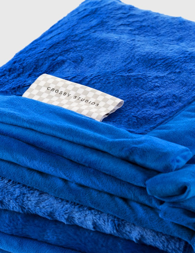 Crosby Studios Blue Blanket Blue Unisex