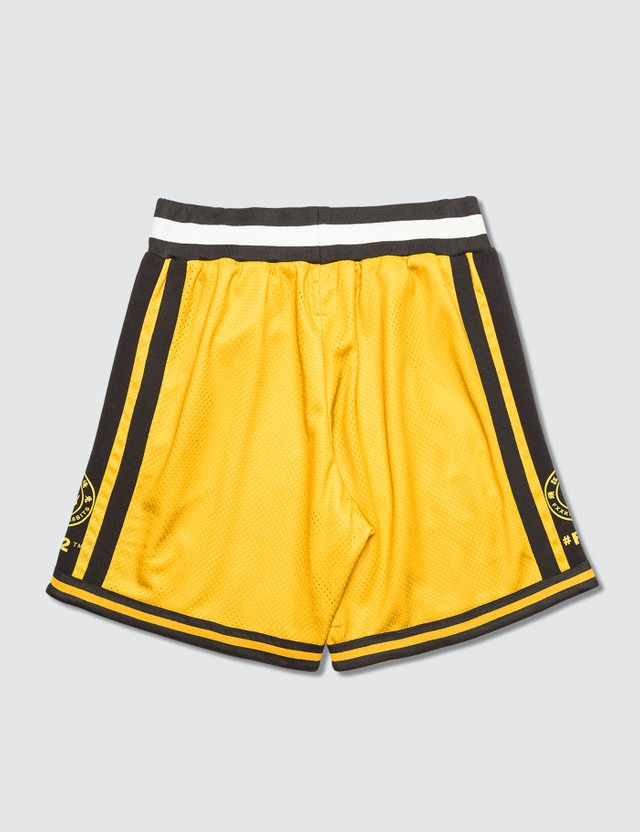 #FR2 Basket Uniform Shorts Yellow Men