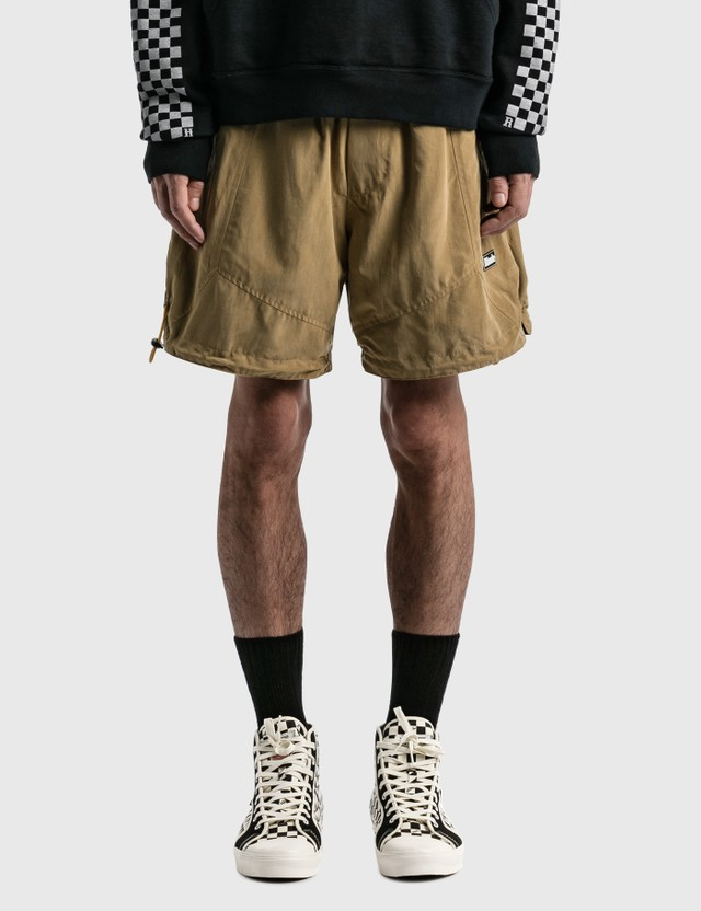 Rhude Fighter Flight Shorts Tan Men