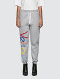 Versace Rainbow Color Logo Sweatpants Picutre