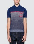 Prada Melange Knitted Polo Picture