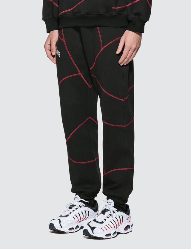 Pleasures Destroyer Contrast Stitch Sweatpants