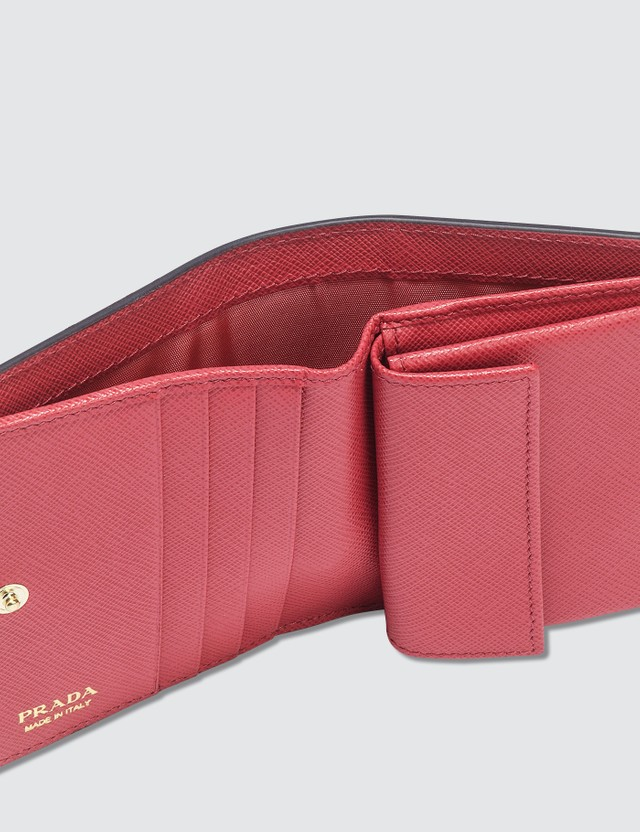 Prada Heart Patch Wallet