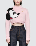 GCDS Mickey Crop Sweater Picture