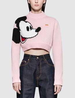 GCDS Mickey Crop Sweater
