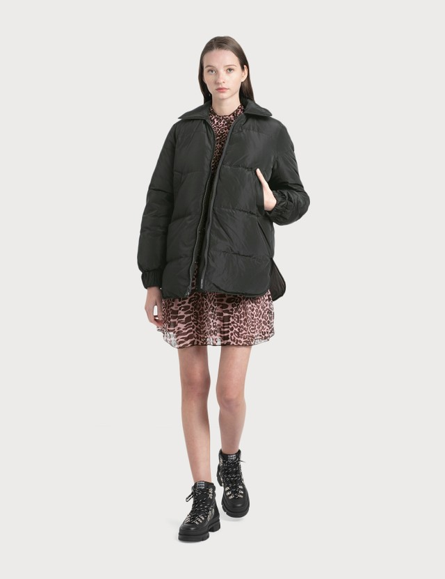 Ganni Printed Tech Down Jacket