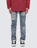 Levi's Half Day Selvedge 511 Slim Fit Jeans Picture