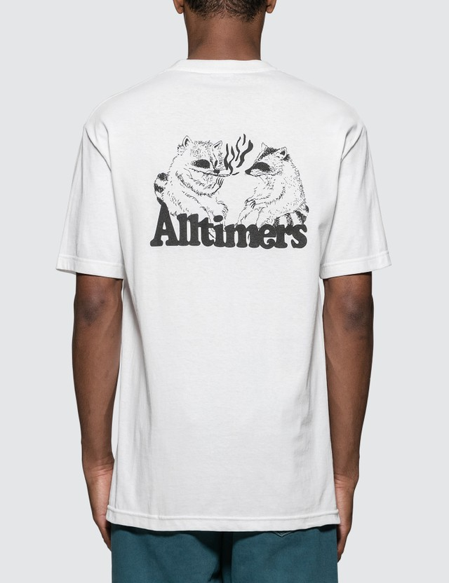 Alltimers Racoons Smoking Pot T-Shirt