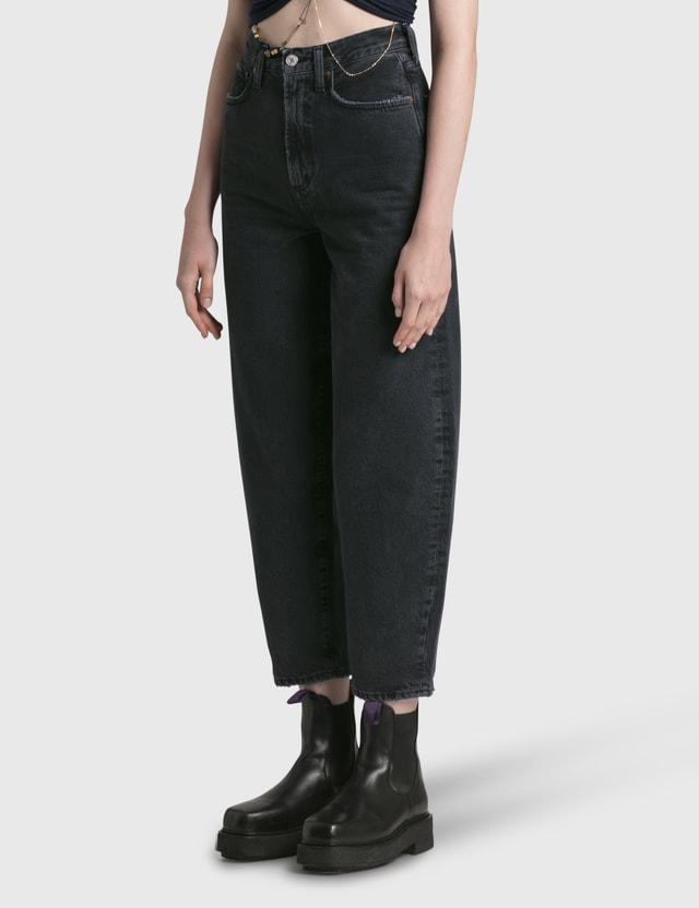 AGOLDE Balloon Jeans Black Women