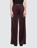 Alexander Wang Sleek French Wide Leg Pant With T Detail Picture
