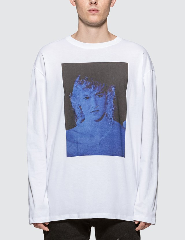 Raf Simons Laura Dern Long Sleeve T-shirt
