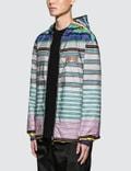 Prada Stripe Nylon Jacket