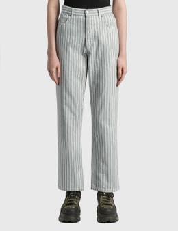 Stussy Stripe Big OL' Jeans