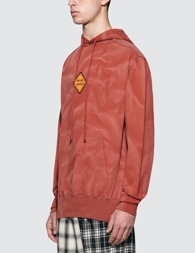 Liam Hodges Badge Hoody Red Men