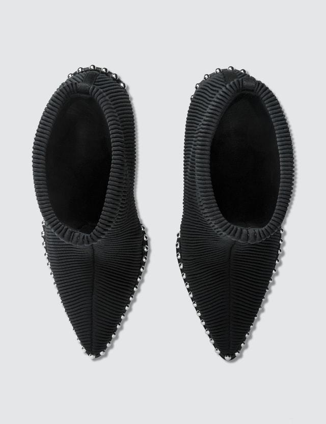 Alexander Wang Eri Stretch Plisse Boots