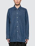Monkey Time Denim Long Shirt Picture