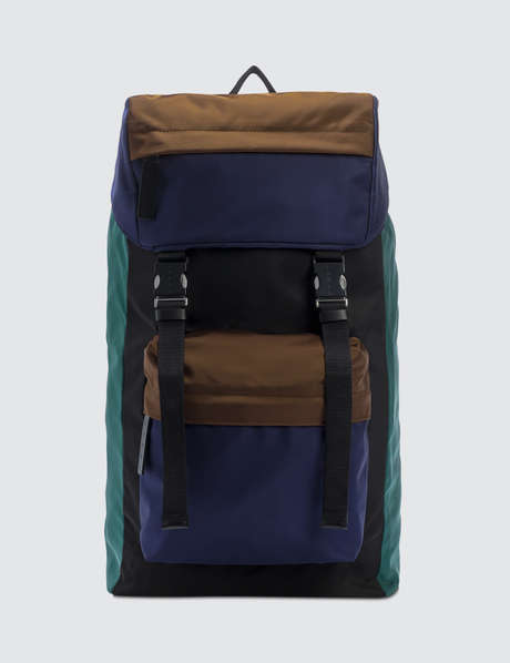 마르니 Marni Multicolor Functional Backpack