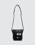 Prada Logo Patch Nylon Side Bag Picture