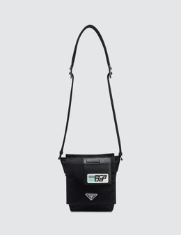 Prada Logo Patch Nylon Side Bag Picture