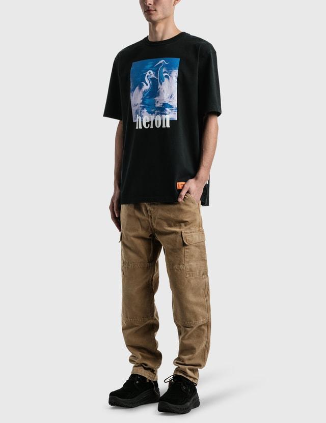 Heron Preston Heron Nightshift Oversized T-shirt Black Men