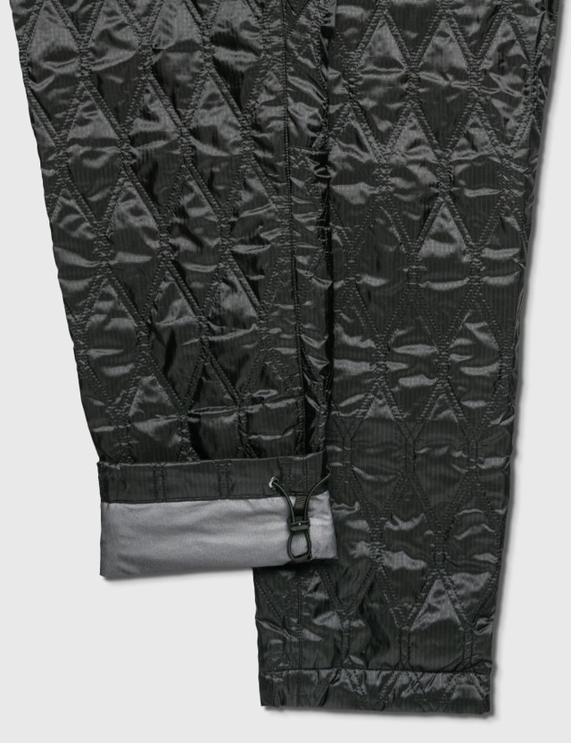 White Mountaineering Gore-tex Infinium 퀼트 팬츠 Black Men