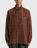 Needles Jog Jacket - Cupra Plaid Cloth Picutre