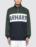 Carhartt Work In Progress Retro Sport Half Zip Sweatshirt Picture