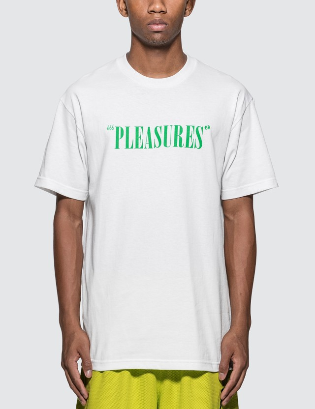 Pleasures Balance Logo T-Shirt
