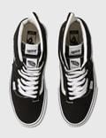 Vans Cap Mash Hi LX (suede/canvas) Black/white Men