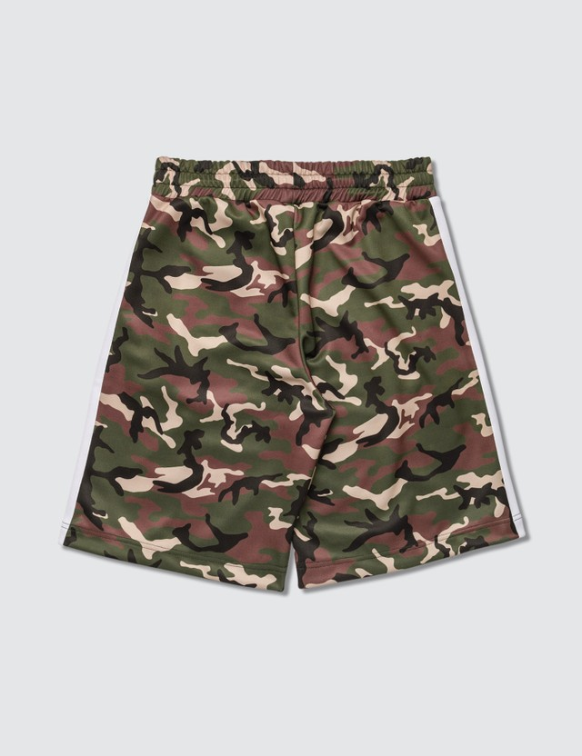 Palm Angels Camo Track Shorts