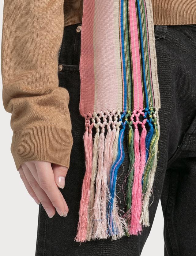 Loewe Sweater Stripe Bands Camel/multicolor Women
