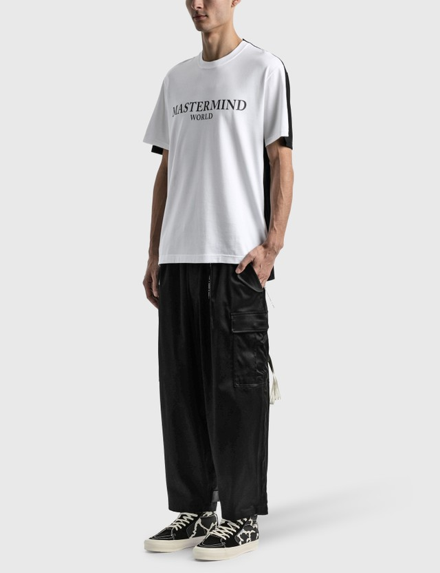 Mastermind World Masterseed Cargo Cropped Pants Black Men