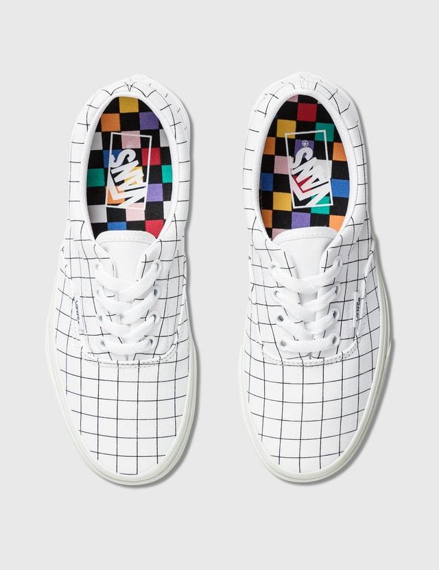Vans Era (u-color) Checkerboard/true White Women