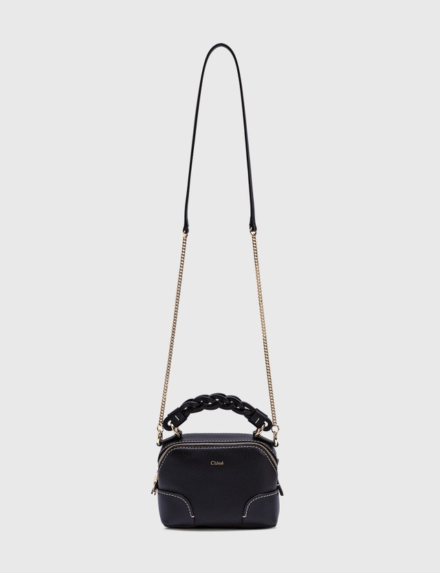Chloé Mini Daria Chain Bag Full Blue Women