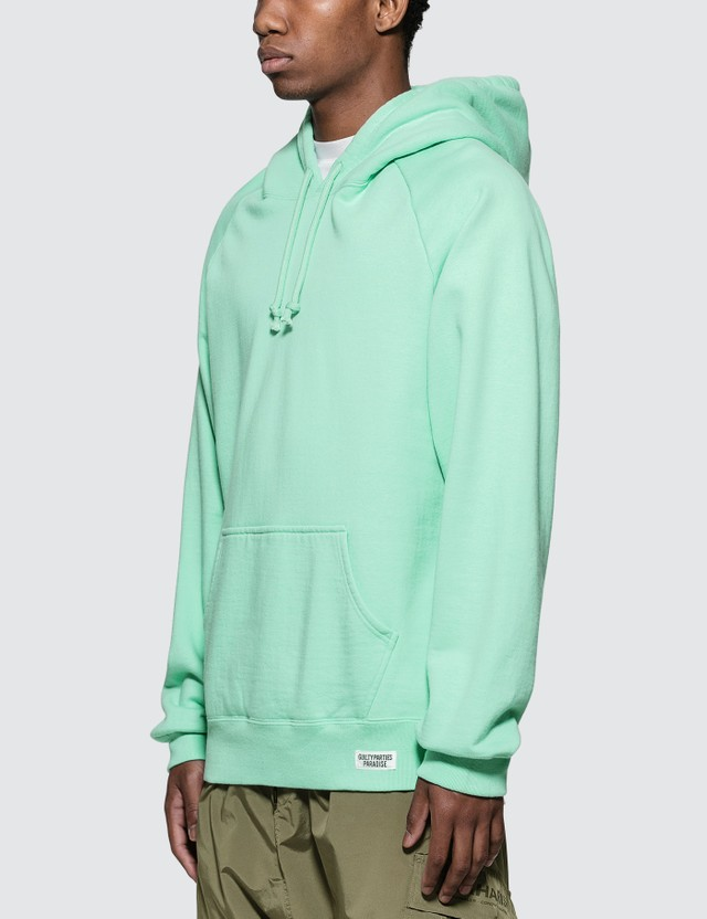 Wacko Maria Washed Heavy Weight Pullover Hooded Sweat Shirt (Type-6 )