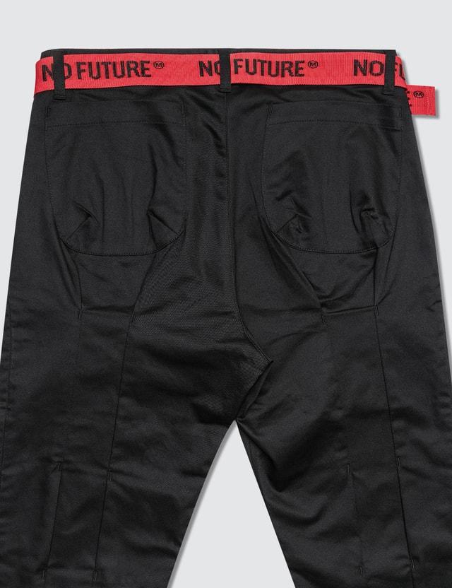 Magic Stick Cropped Fake Bontage Pants