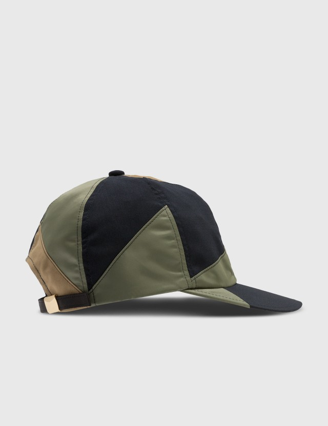 Sacai Hank Willis Thomas Solid Mix Cap Beige X Navy X Khaki Men