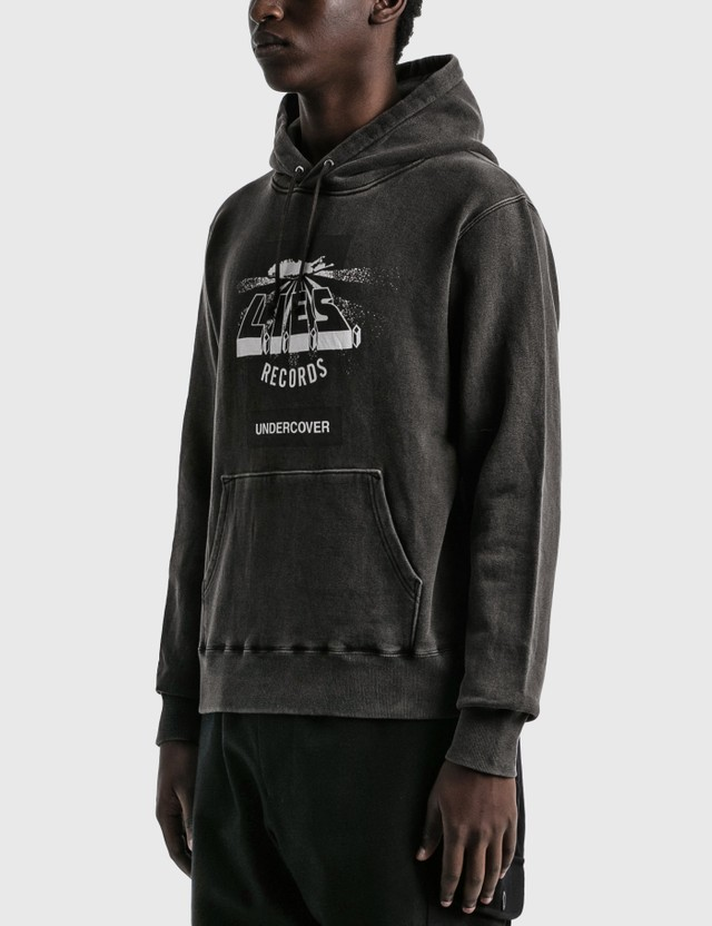 Undercover L.I.E.S Records Hoodie Charcoal Men