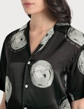 Kirin All Over Discoball Shirt Black Silver Women