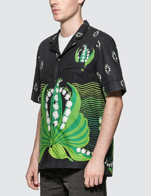 Valentino Lily V Shirt Stampa Mughetti Men