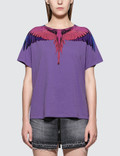 Marcelo Burlon Wings Short Sleeve T-shirt Picture