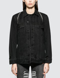 Alexander Wang Daze Zip Denim Jacket Picture
