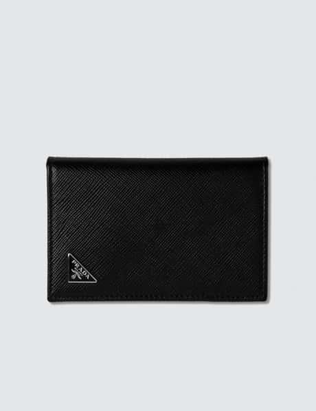 프라다 Prada Fold Logo Credit Card Holder