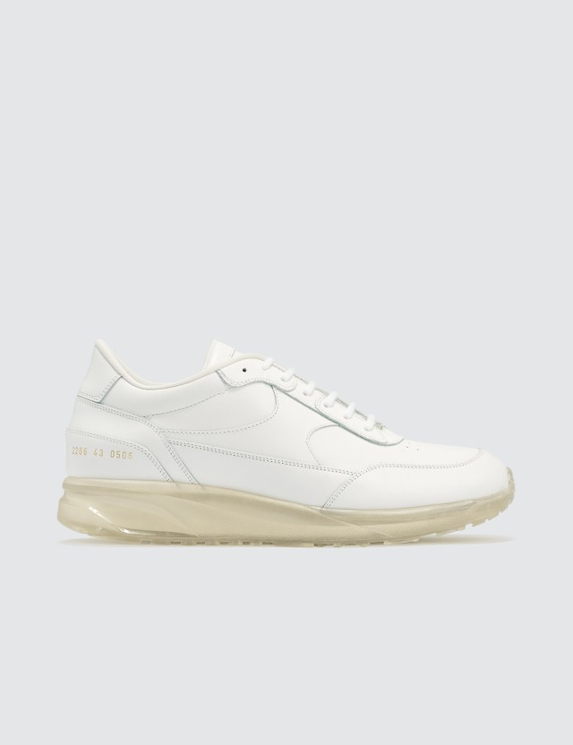 Common Projects Transparent Sole Pack Track Classic White Men
