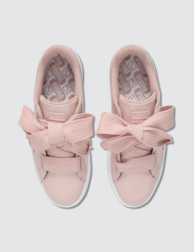 Puma Basket Heart Patent Pink Women