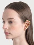 Lanvin Mermaid Earrings Gold Women