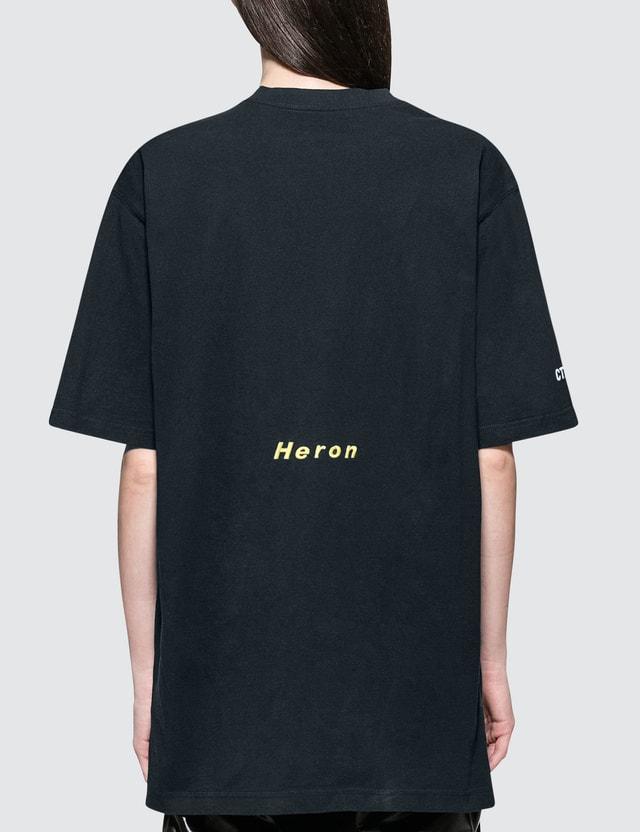 Heron Preston Airbrush Heron Short Sleeve T-Shirt